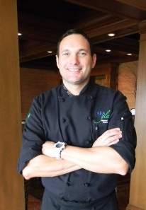 Chef Mitch at Inn by the Sea